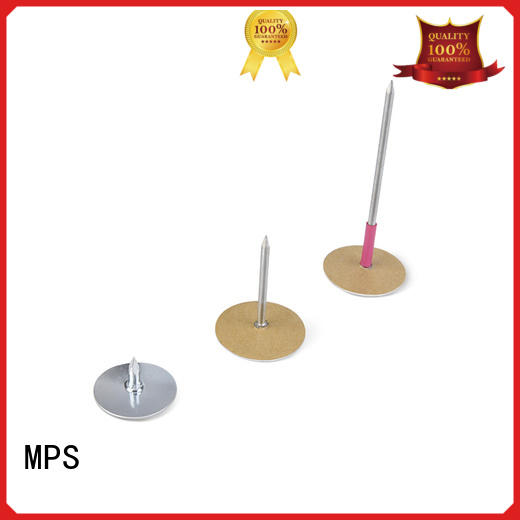 MPS duct pin personalized for household