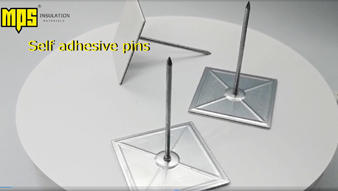 self adhesive pins