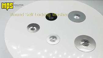 round Self Locking Washers