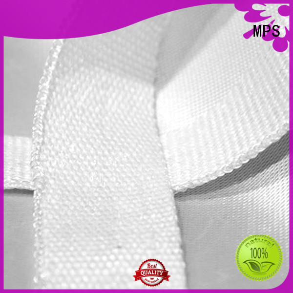 MPS durable silica texturized fabrics for tube