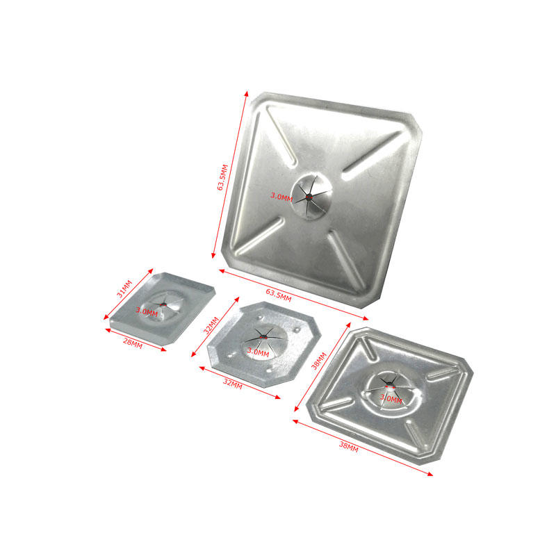 China insulation pins Square Self Locking Washers -MPS