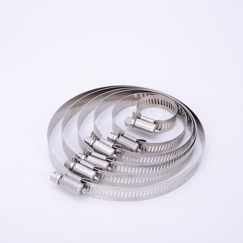 STAINLESS STEEL SNAP SCREW HOSE CLAMPS