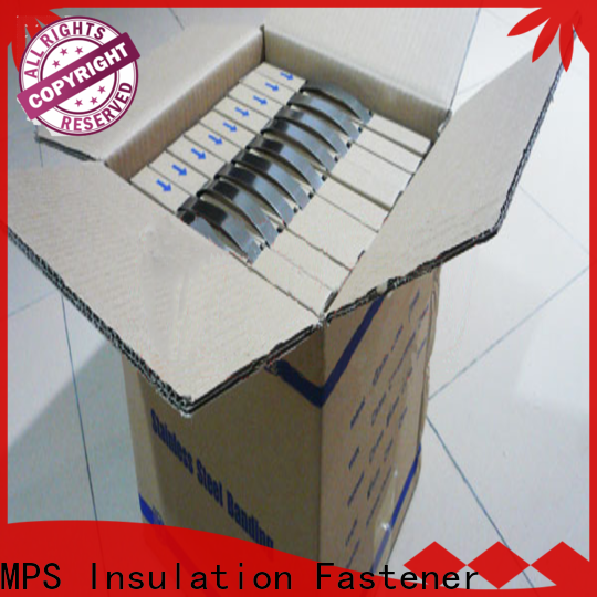 MPS knitted stainless steel tooth buckles manufacturers for powerplant