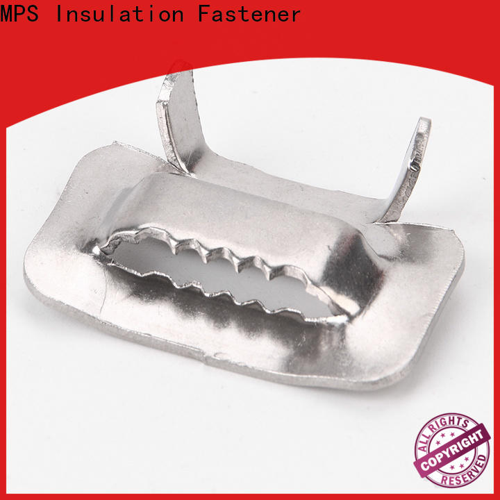 MPS stainless steel tooth buckles company for industry