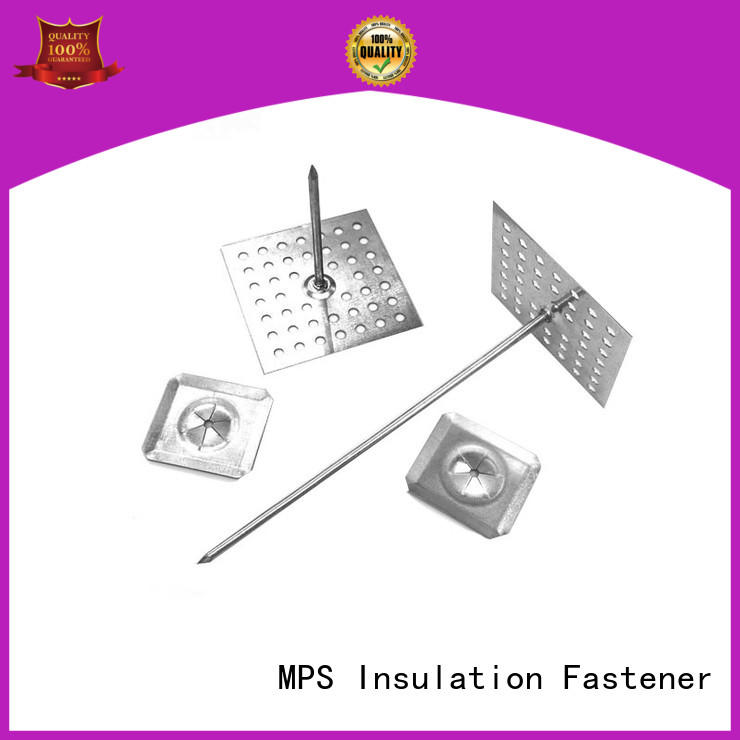 MPS perforated insulation pins personalized for blankets