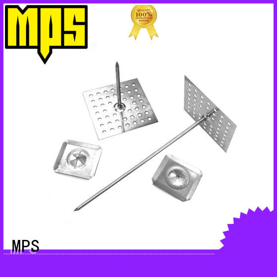 MPS weld insulation hangers liner for fixation