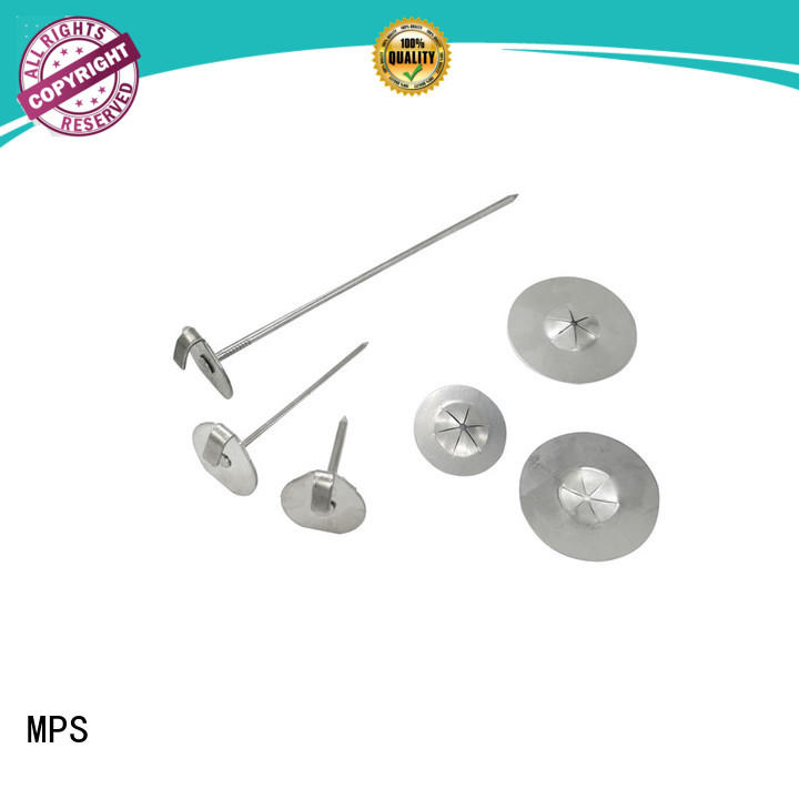 CD weld pin liner for blankets MPS
