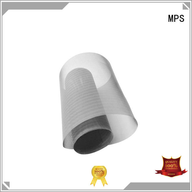 MPS knitted stainless steel spring tie for blankets
