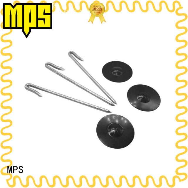 MPS perforated insulation hangers weld for blankets