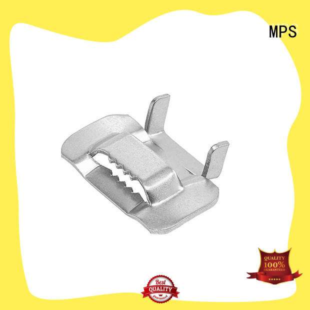 MPS annealed stainless steel tooth buckles custom-made for industry