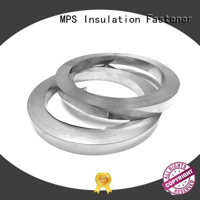 lacing stainless steel wing seal customized for blankets
