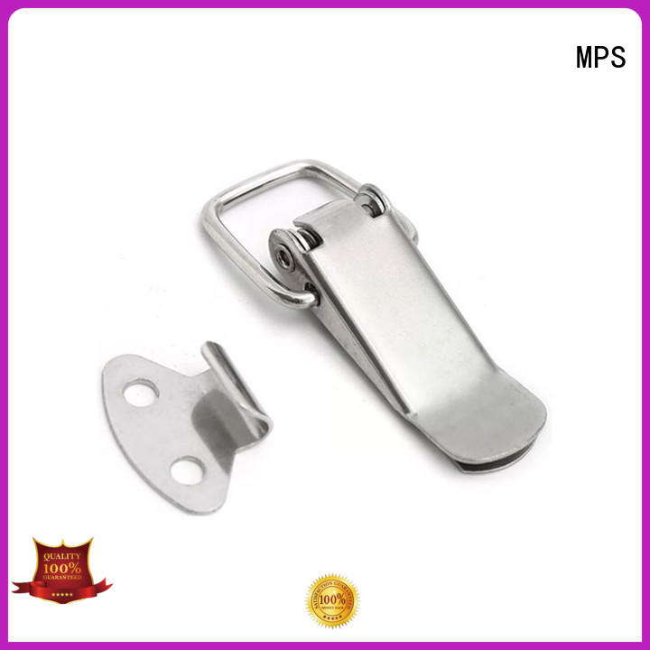 MPS tubular stainless steel spring latches for industry