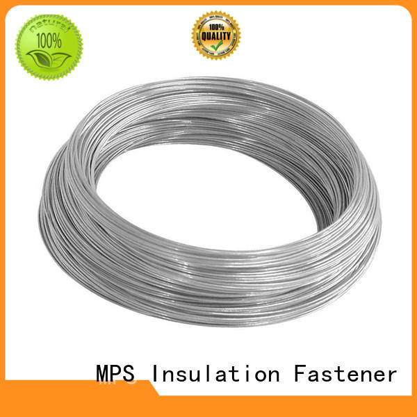stainless steel wing seal lacing for blankets MPS