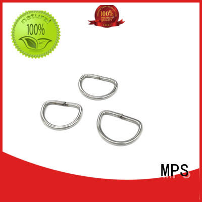 knitted stainless steel tooth buckles customized for powerplant MPS