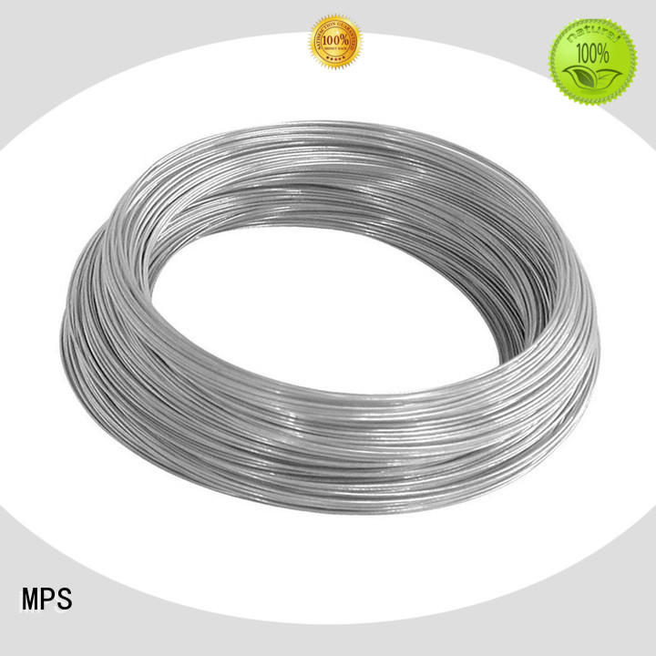 MPS tubular stainless steel spring for blankets