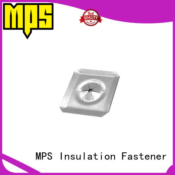 MPS center hole insulation fixing washer clips for insulation