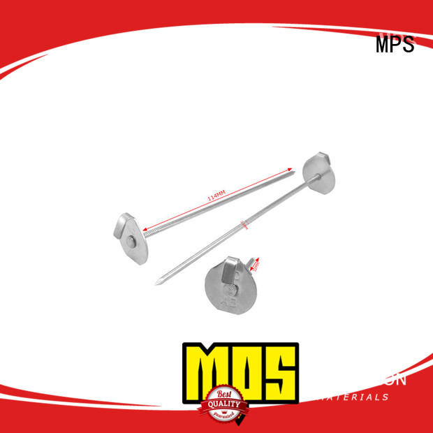 MPS Top self adhesive insulation fixing pins factory for fixation